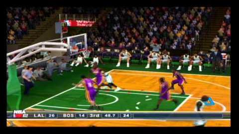 NBA 2K12 PS2 LA Lakers vs Celtics