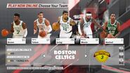 Boston Celtics NBA 2K18