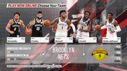 Brooklyn Nets NBA 2K18