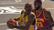 NBA 2K LeBron and Kobe