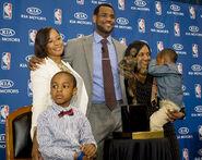 Lebron-james family