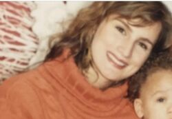 Klay Thompson Mother Julie White Thompson-picture.jpg