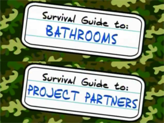 Guide To Bathrooms And Project Partners Ned S Declassified School Survival Guide Wiki Fandom
