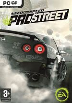 NFS ProStreet - Boxart PC