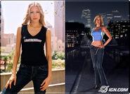 NFSU Characters Melissa model Amy Walz