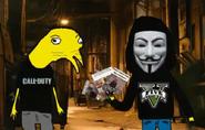 Niño Ratta y Hacker