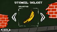 Graffiti Banana
