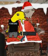Santa Claus en el Niño Ratta