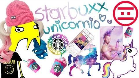 Niña Unica - 01 - Starbucks Unicornio
