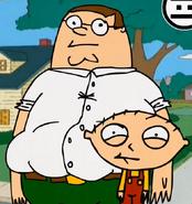 Peter y Stewie Griffin