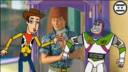 Woody, Buzz Infinito y Ken