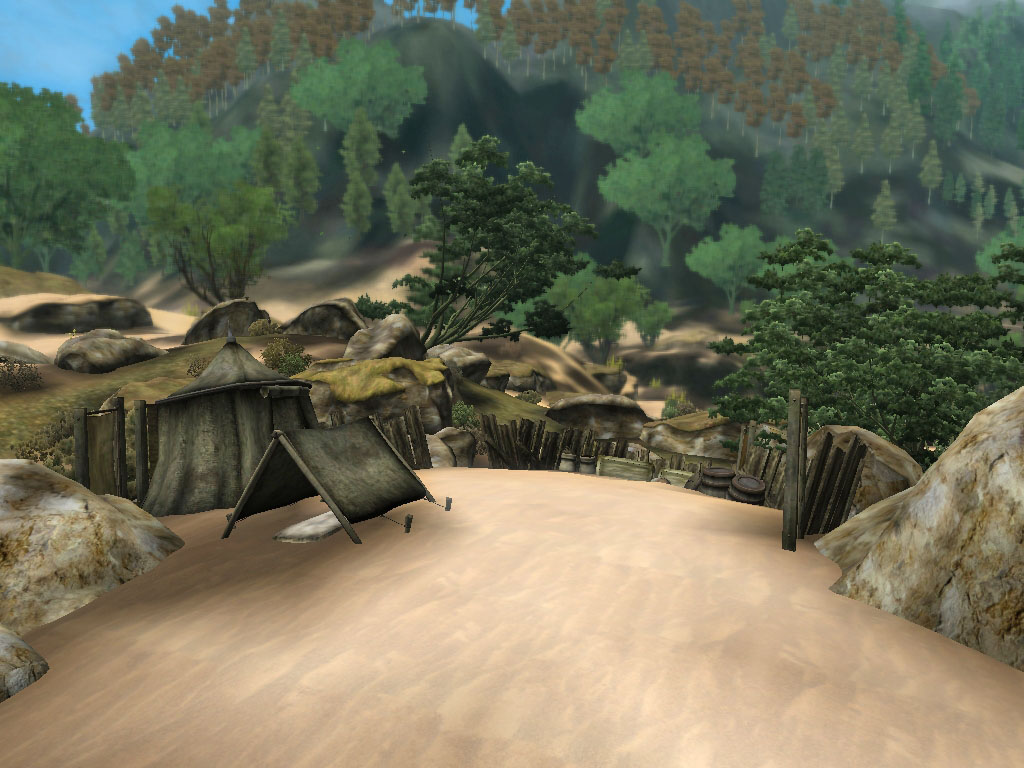 Abandoned camps in Southrealm