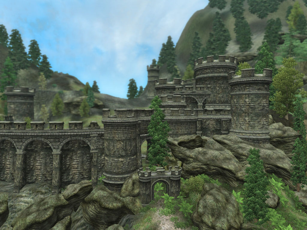 Fortress at the Collapsed South Pass