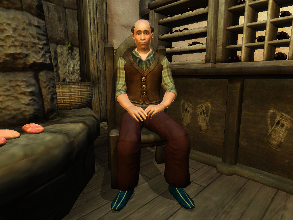 Innkeeper Huberto