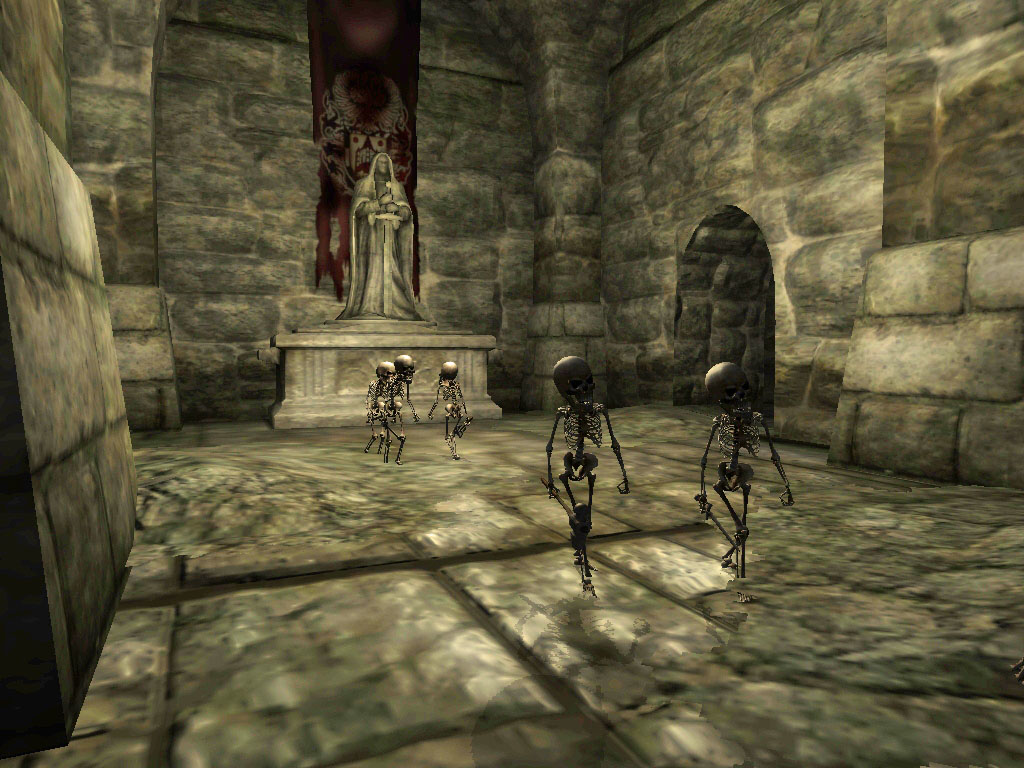Erothin, Crypt
