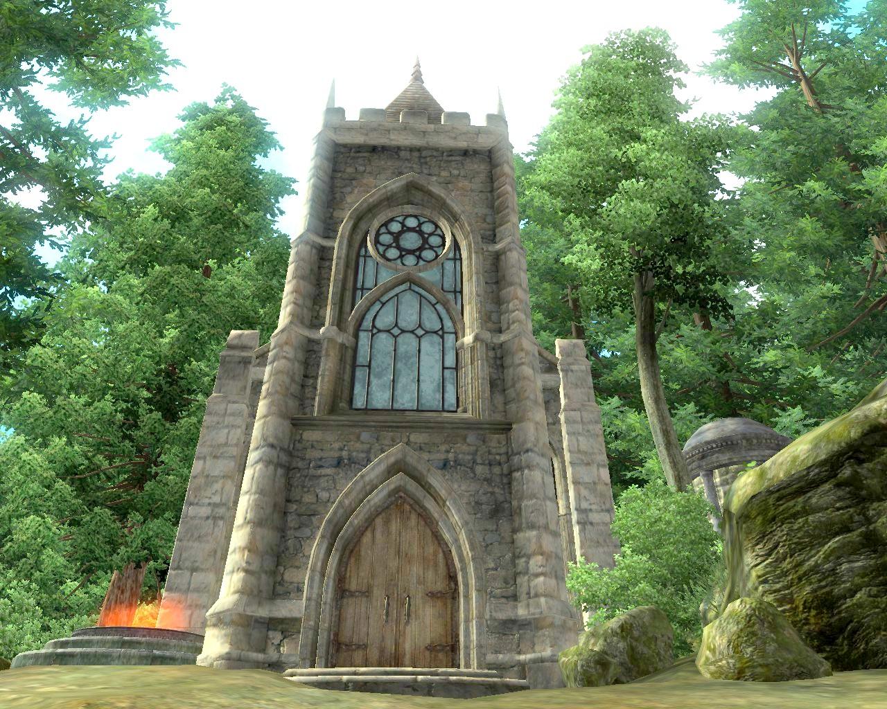 Giliad, Chapel