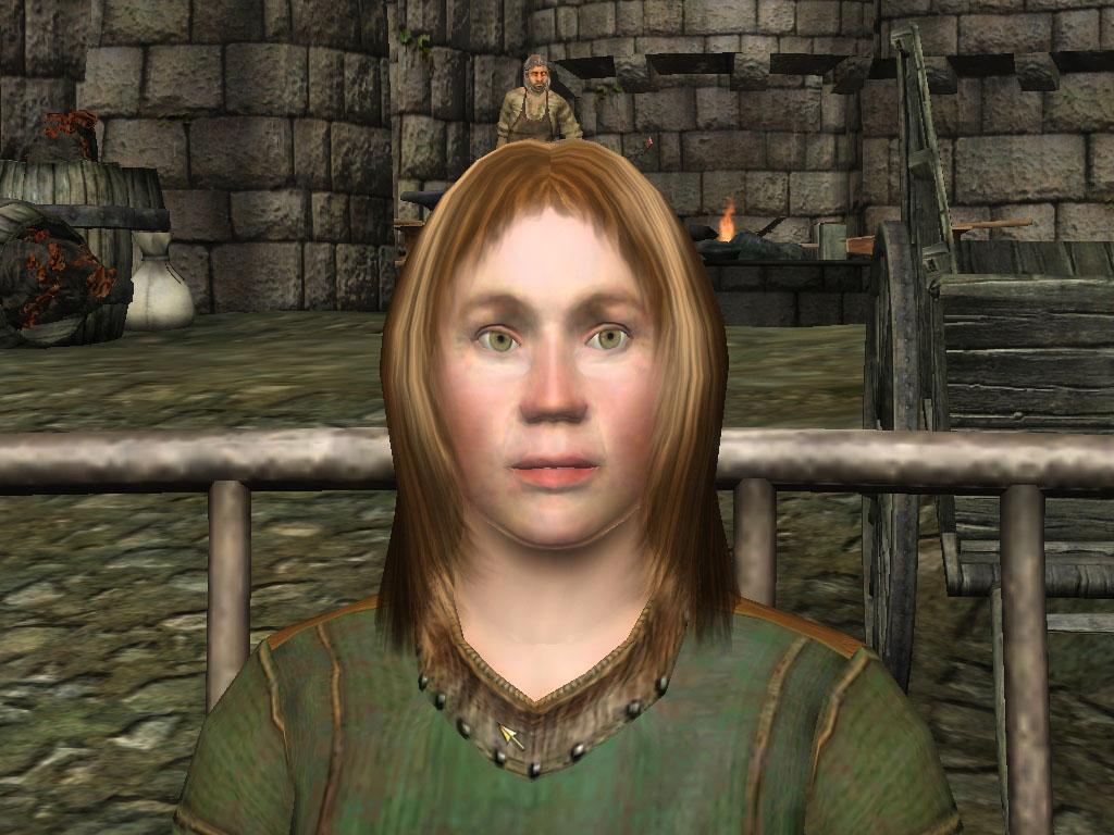 Vivien the horse breeder