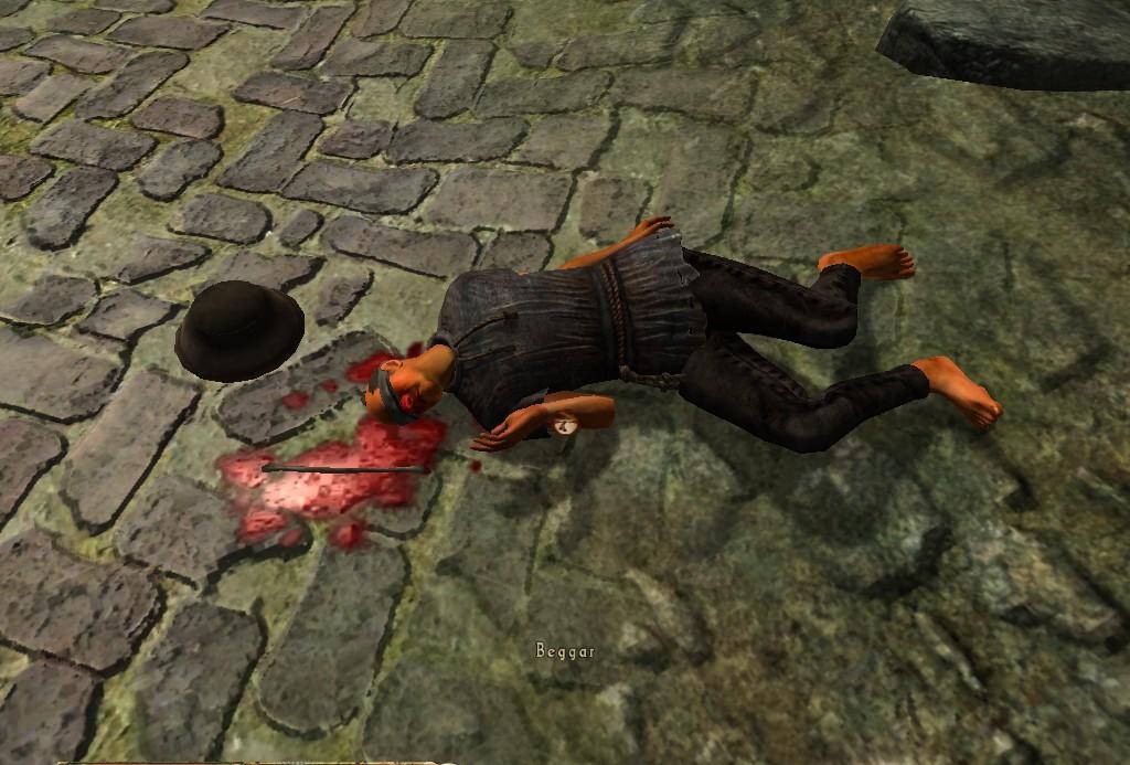 Erdon, Beggar (Corpse)