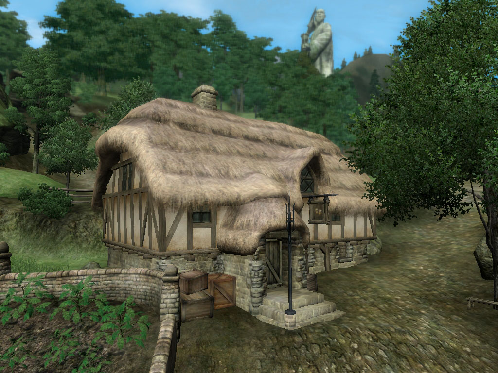 Tavern In Front Of Erothin