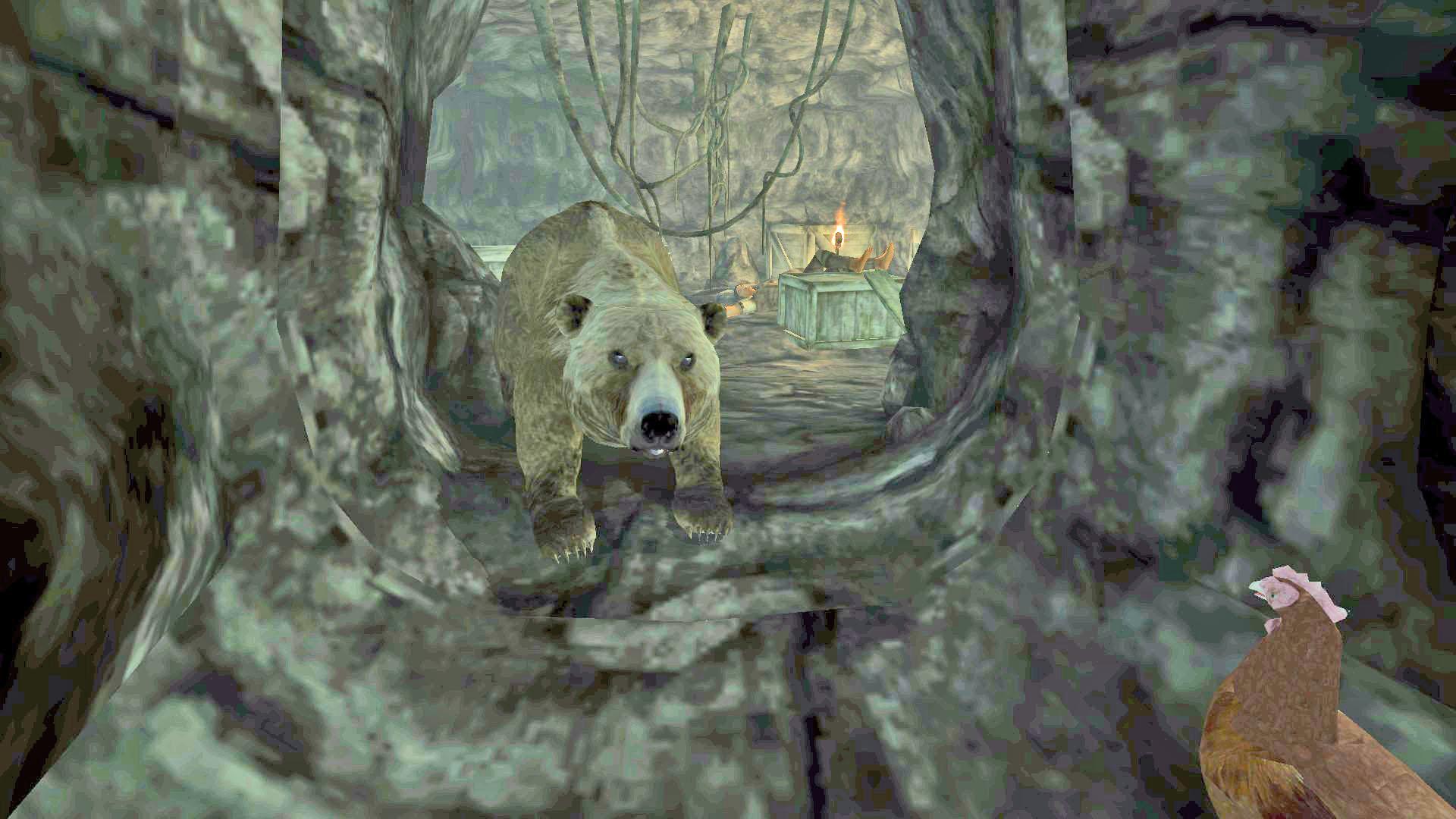Frostfinger's Bear
