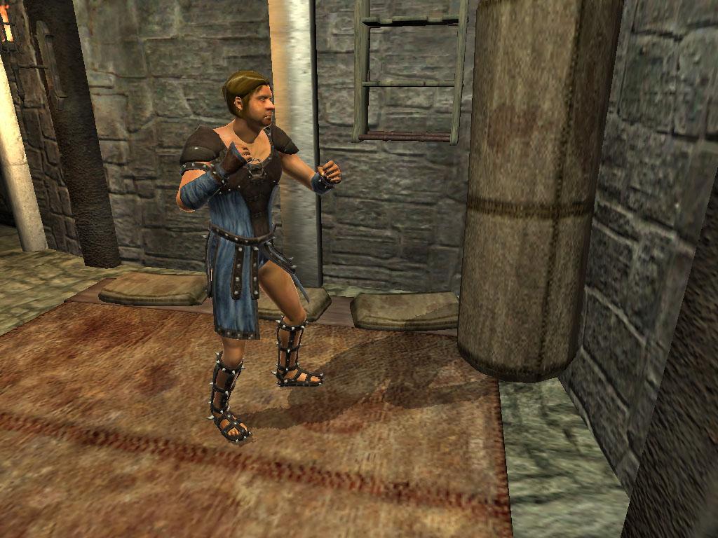 Arena Fighter Tirtan
