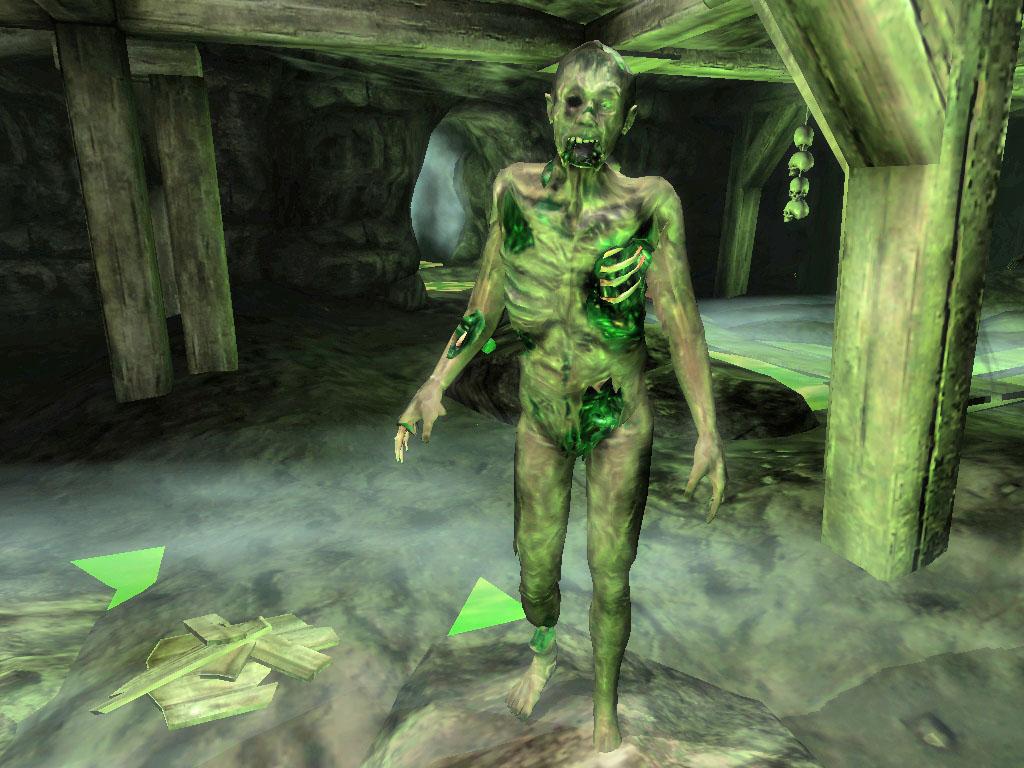 Magically Contaminated Zombie