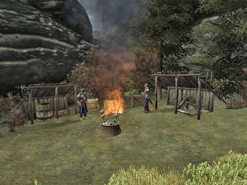 Aeterna Battlemage camp