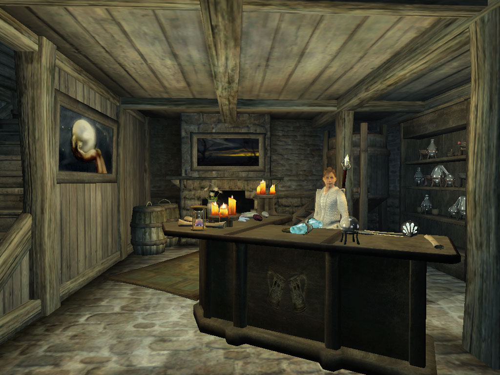 Nara's House, Alchemy and Illusions