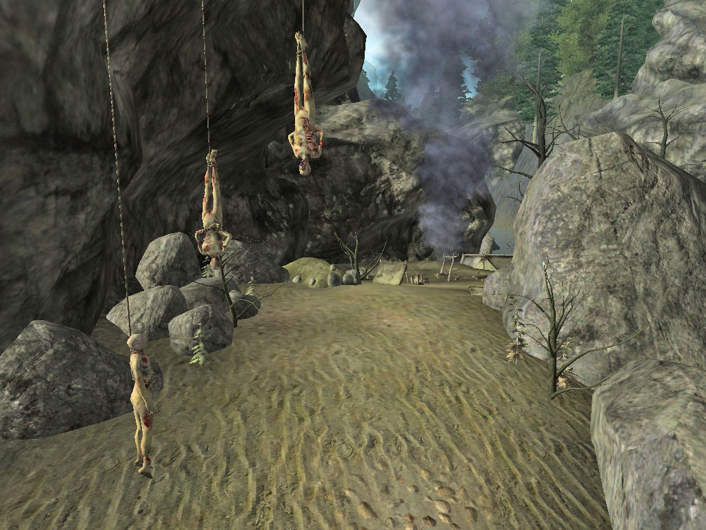 Abandoned camps in Northrealm