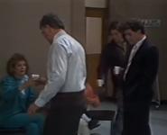 Naybers hospital corridor 1988