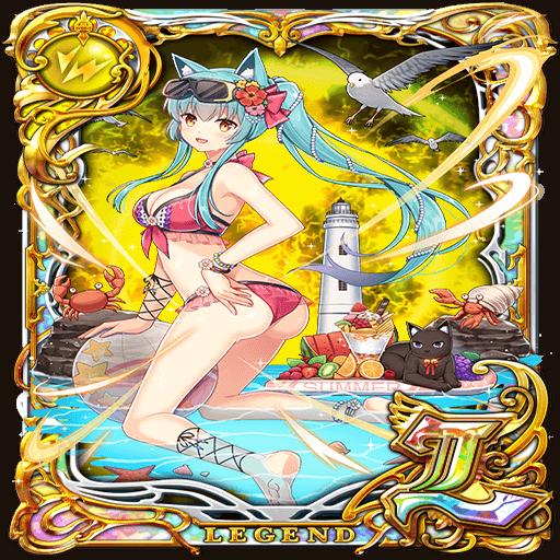 卡片資料/801356-沙灘上飛舞的精靈 露絲娜
