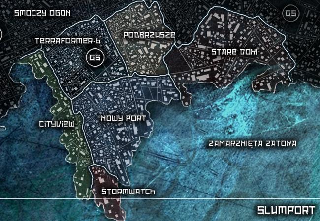 Mapa Slumportu