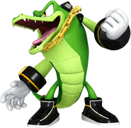 Vector the Crocodile 2016