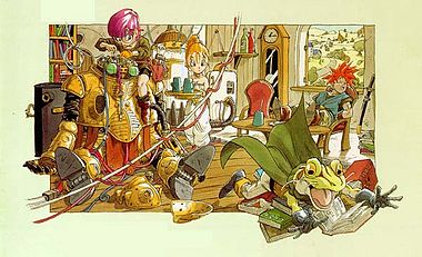 Characters of Chrono Trigger