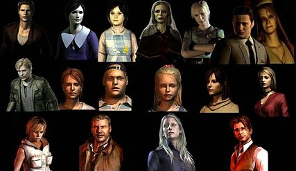 Sclera1/List of Silent Hill, Silent Hill 2, and Silent Hill 3 characters