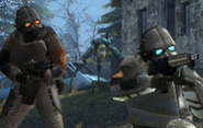 Combine soldiers