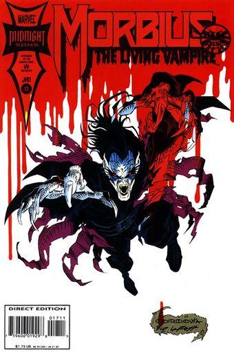 Morbuis #11 July 1993 Marvel Comics The Living Vampire