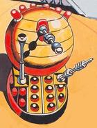 The Golden Emperor Dalek
