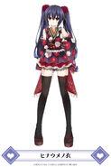 MainichiCH-Noire Kimono