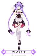 MainichiCH-Purple Heart Blossom Maid