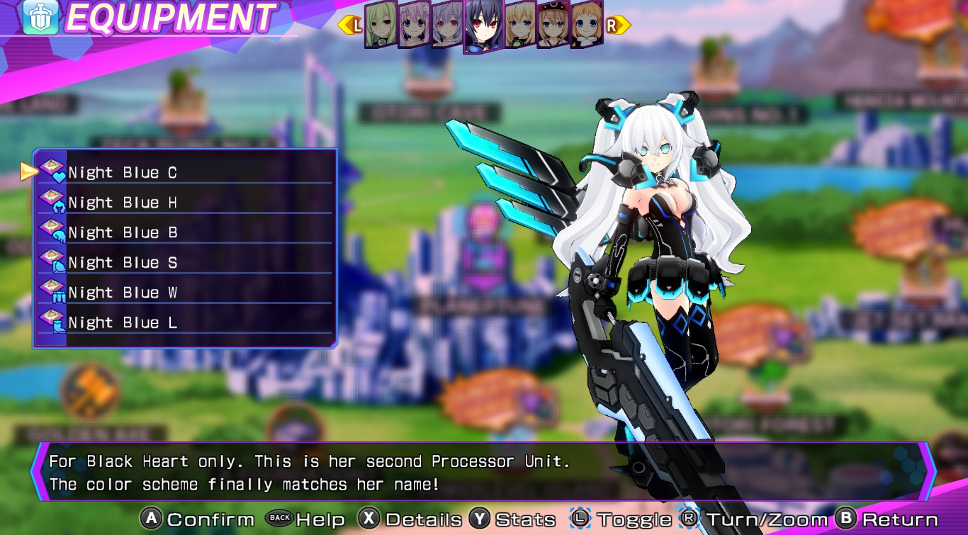 Processor Unit/Re;Birth3/Night Blue
