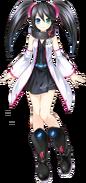 Sega Saturn (English) - Sega Hard Girls render