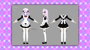 Nepgear maid concepts