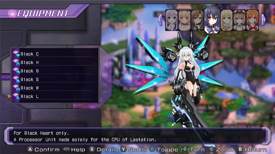 Processor Unit/Re;Birth1/Black