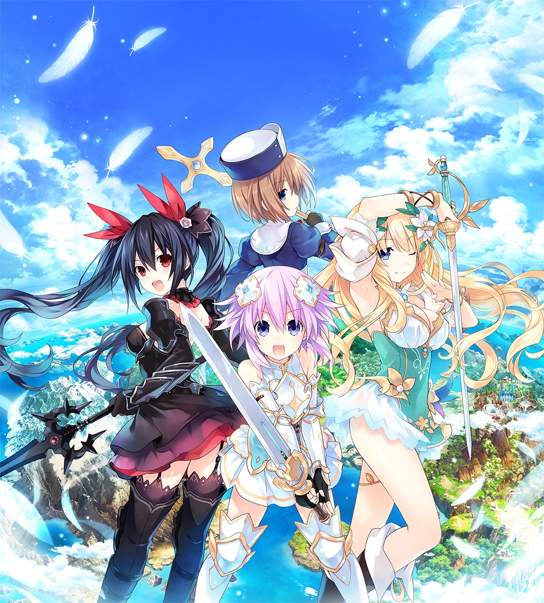 Cyberdimension Neptunia: 4 Goddesses Online/Image Gallery