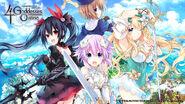 Cyberdimension Neptunia 4 Goddesses Online PC wallpaper 1