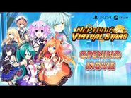 Neptunia Virtual Stars - Opening Movie Trailer