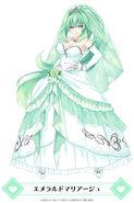 MainichiCH-Green Heart Emerald Marriage