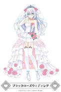 MainichiCH-Black Heart Black Rose Wedding