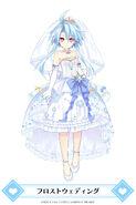 MainichiCH-White Heart Frost Wedding